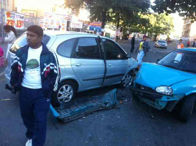 Car accident in South Africa and like to know what to do